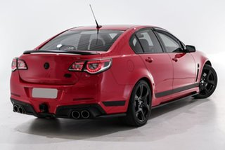 2016 Holden Special Vehicles ClubSport Gen-F2 MY16 R8 SV Black Red 6 Speed Manual Sedan.