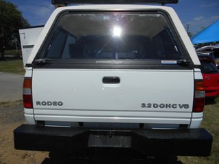 1998 Holden Rodeo TF R9 LT Crew Cab 4x2 White 4 Speed Automatic Utility