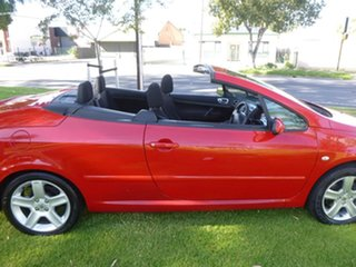 2005 Peugeot 307 T6 CC Dynamic Red Sports Automatic Cabriolet