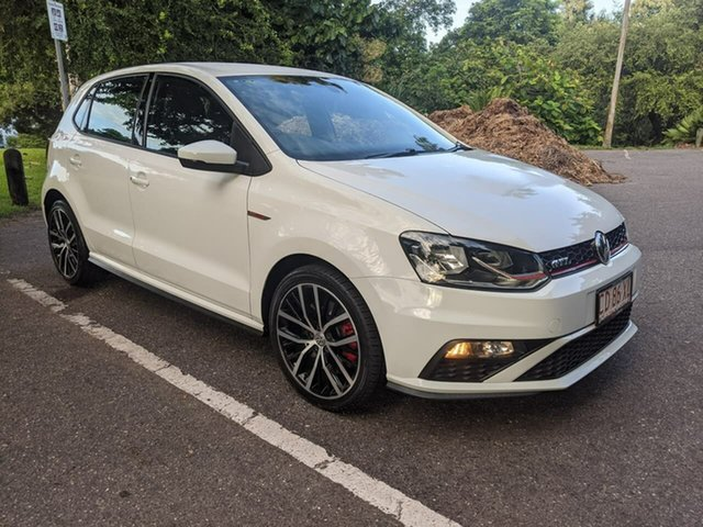 Used Volkswagen Polo 6R MY15 GTi Stuart Park, 2015 Volkswagen Polo 6R MY15 GTi White 6 Speed Manual Hatchback