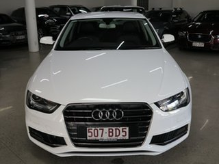 2015 Audi A4 B8 8K MY15 S Line Multitronic White 8 Speed Constant Variable Sedan