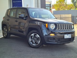 2016 Jeep Renegade Sport Black 6SPD DSG TRANS Liftback
