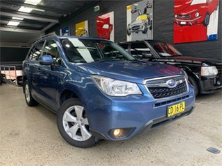 2015 Subaru Forester S4 2.5I-L Blue Constant Variable Wagon.