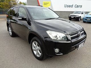 2012 Toyota RAV4 GSA33R MY12 SX6 Black 5 Speed Automatic Wagon.