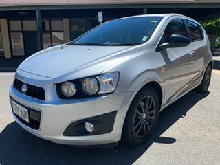 2015 Holden Barina TM MY16 X Silver 5 Speed Manual Hatchback