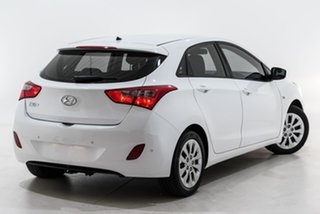 2016 Hyundai i30 GD4 Series II MY17 Active White 6 Speed Manual Hatchback.