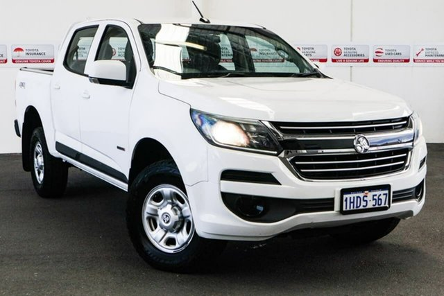 Pre-Owned Holden Colorado RG MY16 LS (4x4) Myaree, 2016 Holden Colorado RG MY16 LS (4x4) White 6 Speed Automatic Crew Cab Pickup