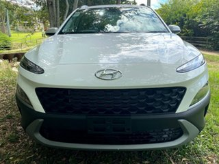 2020 Hyundai Kona Os.v4 MY21 Active 2WD Atlas White 8 Speed Constant Variable Wagon.