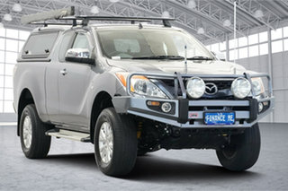 2014 Mazda BT-50 UP0YF1 XTR Grey 6 Speed Sports Automatic Utility.