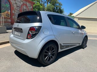 2015 Holden Barina TM MY16 X Silver 5 Speed Manual Hatchback.