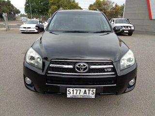2012 Toyota RAV4 GSA33R MY12 SX6 Black 5 Speed Automatic Wagon.