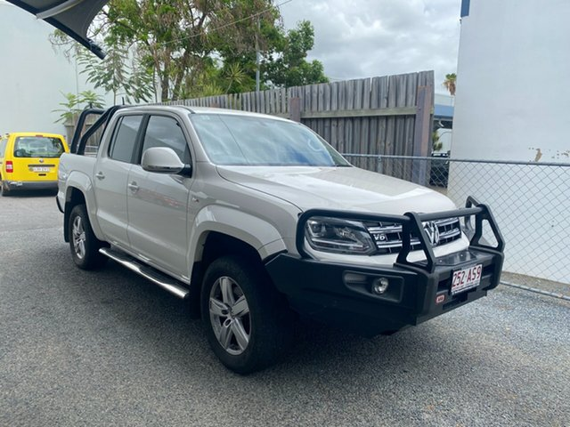 Used Volkswagen Amarok 2H MY17 TDI550 4MOTION Perm Highline North Rockhampton, 2016 Volkswagen Amarok 2H MY17 TDI550 4MOTION Perm Highline White 8 Speed Automatic Utility