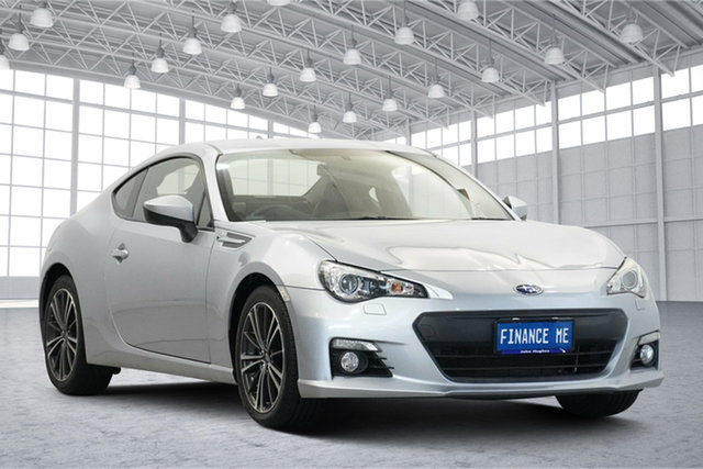 Used Subaru BRZ Z1 MY16 Hyper Blue Victoria Park, 2015 Subaru BRZ Z1 MY16 Hyper Blue Silver 6 Speed Manual Coupe