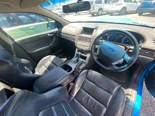 2008 Ford Falcon FG XR8 Blue 6 Speed Sports Automatic Sedan.