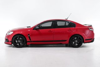 2016 Holden Special Vehicles ClubSport Gen-F2 MY16 R8 SV Black Red 6 Speed Manual Sedan