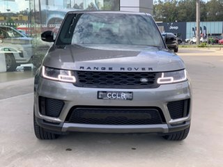 2019 Land Rover Range Rover Sport L494 20MY SE Silicon Silver 8 Speed Sports Automatic Wagon.