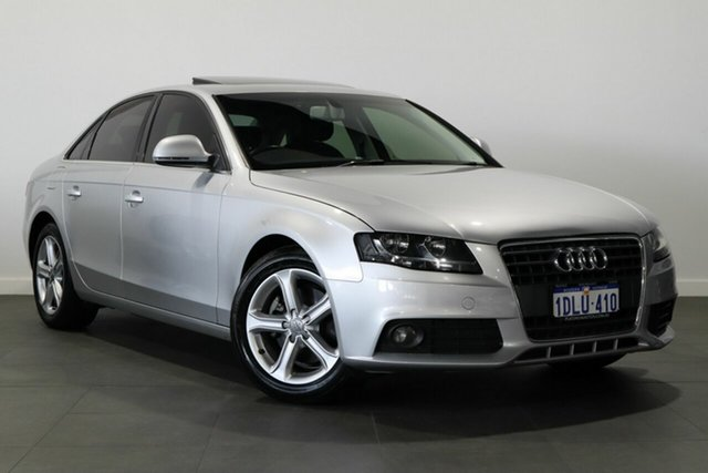 Used Audi A4 B8 8K Multitronic Bayswater, 2009 Audi A4 B8 8K Multitronic Silver 8 Speed Constant Variable Sedan