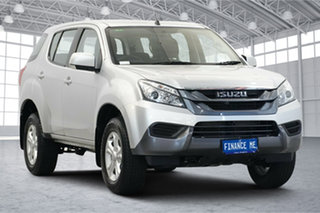 2016 Isuzu MU-X MY15.5 LS-M Rev-Tronic 4x2 Silver 5 Speed Sports Automatic Wagon.