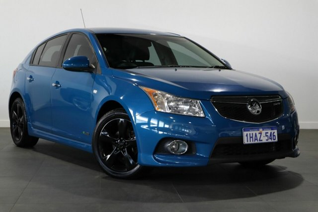 Used Holden Cruze JH Series II MY12 SRi Bayswater, 2012 Holden Cruze JH Series II MY12 SRi Blue 6 Speed Manual Hatchback