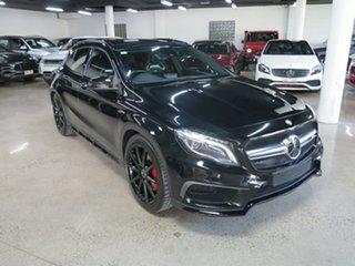 2015 Mercedes-Benz GLA-Class X156 805+055MY GLA45 AMG SPEEDSHIFT DCT 4MATIC Cosmos Black 7 Speed.
