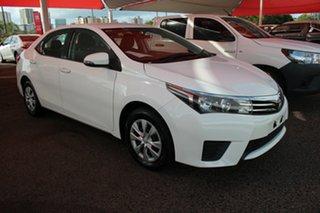 2016 Toyota Corolla ZRE172R Ascent S-CVT Glacier White 7 Speed Automatic Sedan.
