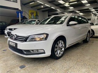 2012 Volkswagen Passat Type 3C 118TSI White Sports Automatic Dual Clutch Wagon