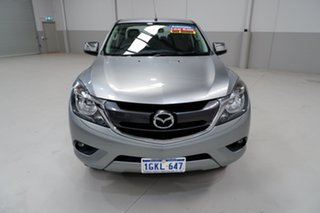 2017 Mazda BT-50 UR0YG1 XTR 4x2 Hi-Rider Silver 6 Speed Sports Automatic Utility.