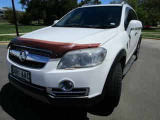 2008 Holden Captiva CG MY08 LX 60th Anniversary (4x4) White 5 Speed Automatic Wagon