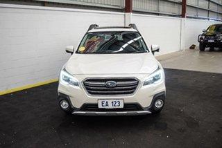 2019 Subaru Outback B6A MY20 2.5i CVT AWD Premium White 7 Speed Constant Variable Wagon.