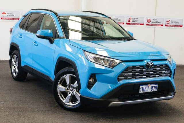 Pre-Owned Toyota RAV4 Mxaa52R GXL 2WD Myaree, 2019 Toyota RAV4 Mxaa52R GXL 2WD Eclectic Blue 10 Speed Constant Variable Wagon
