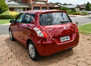 2012 Suzuki Swift FZ GA Red 4 Speed Automatic Hatchback