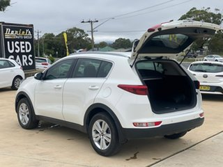 2018 Kia Sportage SI Clear White Sports Automatic Wagon