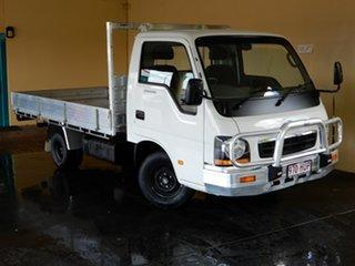 2004 Kia K2700 TU White 5 Speed Manual Cab Chassis
