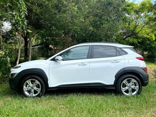 2020 Hyundai Kona Os.v4 MY21 Active 2WD Atlas White 8 Speed Constant Variable Wagon