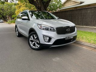 2016 Kia Sorento UM MY16 Platinum AWD Silver 6 Speed Sports Automatic Wagon.