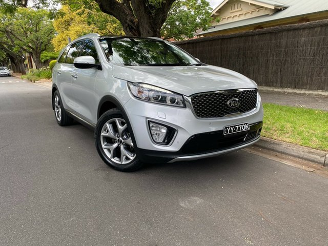 Pre-Owned Kia Sorento UM MY16 Platinum AWD Hawthorn, 2016 Kia Sorento UM MY16 Platinum AWD Silver 6 Speed Sports Automatic Wagon