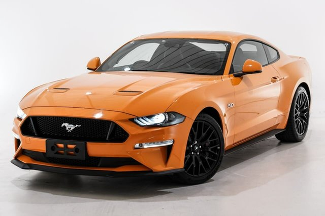 Used Ford Mustang FN 2018MY GT Fastback Berwick, 2018 Ford Mustang FN 2018MY GT Fastback Orange 6 Speed Manual Fastback