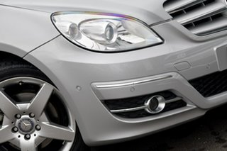 2010 Mercedes-Benz B-Class W245 MY10 B200 Silver 7 Speed Constant Variable Hatchback