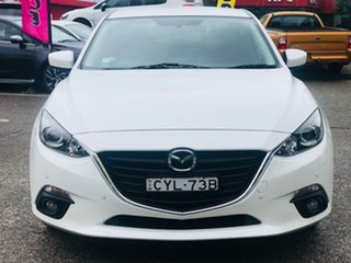 2014 Mazda 3 BM5236 SP25 SKYACTIV-MT White 6 Speed Manual Sedan