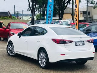 2014 Mazda 3 BM5236 SP25 SKYACTIV-MT White 6 Speed Manual Sedan.
