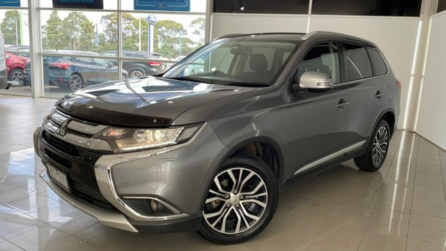 Used Mitsubishi Outlander ZK MY17 LS 2WD Safety Pack Deer Park, 2017 Mitsubishi Outlander ZK MY17 LS 2WD Safety Pack Grey 6 Speed Constant Variable Wagon