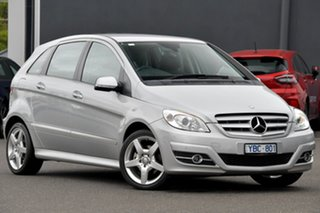 2010 Mercedes-Benz B-Class W245 MY10 B200 Silver 7 Speed Constant Variable Hatchback.