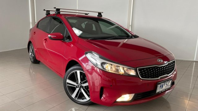 Used Kia Cerato YD MY18 Sport Deer Park, 2018 Kia Cerato YD MY18 Sport Red 6 Speed Sports Automatic Hatchback