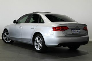 2009 Audi A4 B8 8K Multitronic Silver 8 Speed Constant Variable Sedan