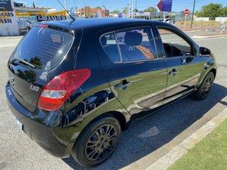 2010 Hyundai i20 PB Active Black 4 Speed Automatic Hatchback