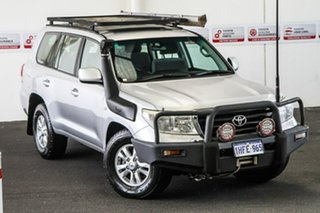 2010 Toyota Landcruiser VDJ200R MY10 GXL Silver Pearl 6 Speed Sports Automatic Wagon.