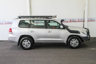 2010 Toyota Landcruiser VDJ200R 09 Upgrade GXL (4x4) Silver Pearl 6 Speed Automatic Wagon