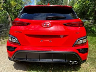 2020 Hyundai Kona Os.v4 MY21 N-Line D-CT AWD Ignite Flame 7 Speed Sports Automatic Dual Clutch Wagon