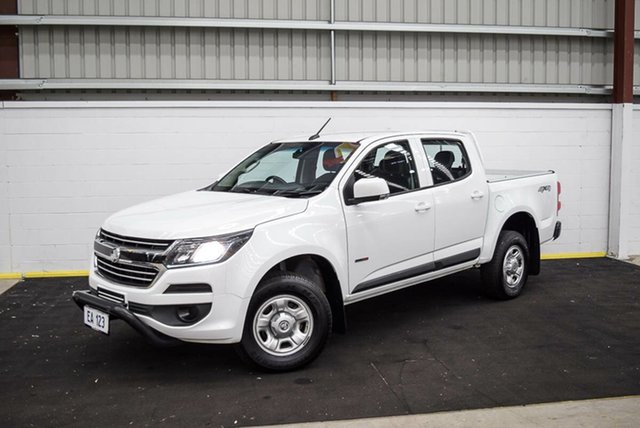 Used Holden Colorado RG MY17 LS Pickup Crew Cab Canning Vale, 2017 Holden Colorado RG MY17 LS Pickup Crew Cab White 6 Speed Manual Utility