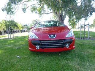 2005 Peugeot 307 T6 CC Dynamic Red Sports Automatic Cabriolet.